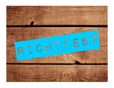 einladungskarten richtfest – ledeclairage, Einladung